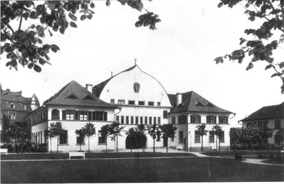 Fotografie: Krankenhaus der Israelitischen Gemeinde / Verwaltungsgebäude. Frankfurt am Main, Gagernstr. 36.
