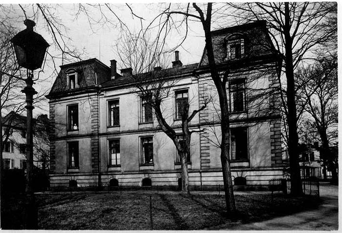 Fotografie: Rothschild'sches Hospital, um 1932.