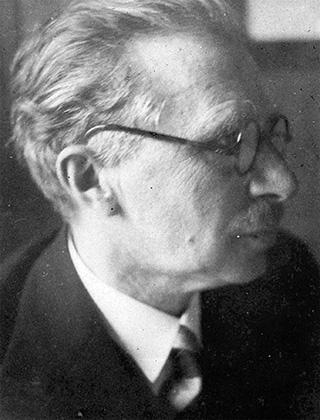 Fotografie: Prof. Dr. Simon Isaac / Leiter des Israelitischen Krankenhauses ab 1925. Frankfurt am Main, Gagernstr. 36.