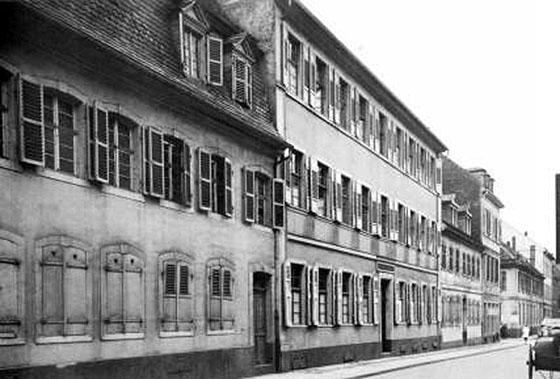 Fotografie: Israelitisches Kranken- und Pfründnerhaus Mannheim.